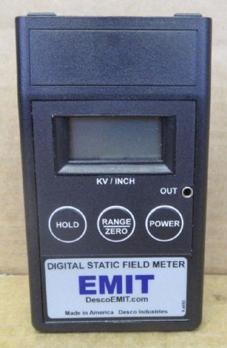 EMIT Digital Static Field Meter 50598 Comes With Conductive Plate